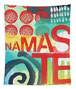 Namaste- Contemporary Abstract Art Tapestry