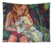 Nan And Beau Tapestry