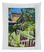 Napa Valley Winery In June Tapestry