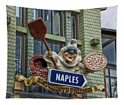 Naples Pizzeria Signage Downtown Disneyland Tapestry