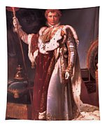 Napoleon In His Coronation Robes  Tapestry