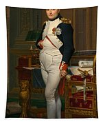 Emperor Napoleon In His Study At The Tuileries Tapestry