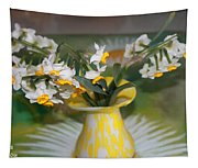 Narcissus In The Vase Tapestry