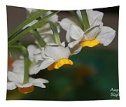 Narcissus Profile Tapestry