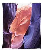 Narrow Canyon Xii Tapestry