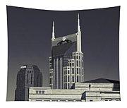 Nashville Tennessee Batman Building Tapestry