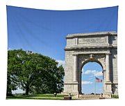 National Memorial Arch At Valley Forge Tapestry