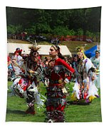 Native American Dancers Tapestry