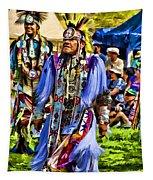 Native American Elder Tapestry