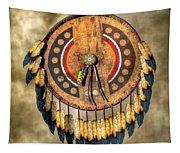 Native American Shield Tapestry