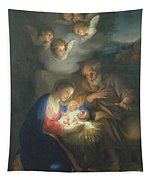 Nativity Scene Tapestry