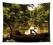 Natural Seating Tapestry