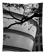 Nature And Architecture In Black And White Tapestry