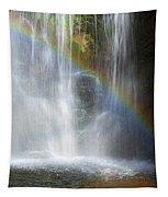 Natures Rainbow Falls Tapestry