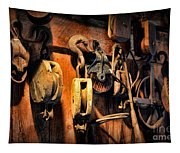 Nautical - Boat - Block And Tackle  Tapestry