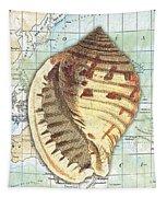 Nautical Journey-c Tapestry