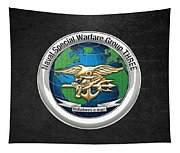 Naval Special Warfare Group Three - Nswg-3 - On Black Tapestry