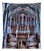 Nave Organ And Paintings Of Saint Cecile Tapestry