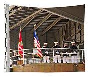 Navy Men Tapestry