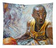 Nba Lakers Kobe Black Mamba Tapestry