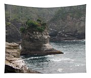 Neah Bay At Cape Flattery II Tapestry