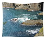 Neah Bay At Cape Flattery Tapestry