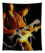 Neal Schon-gc5a-fractal Tapestry