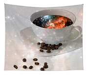 Nectar From Heaven - Coffee Art By Sharon Cummings Tapestry