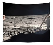 Neil Armstrong On The Moon - 1969 Tapestry