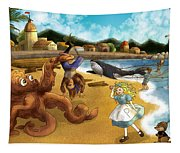 Nellie The Octopus Tapestry