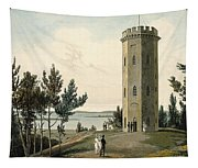 Nelsons Tower, Forres, From A Voyage Tapestry
