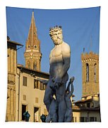 Neptune Statue - Florence Tapestry
