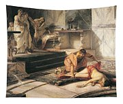 Nero And Agrippina Tapestry
