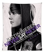 Never Say Never 2 Tapestry