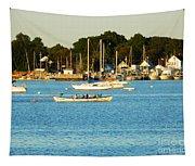 New Bedford Pier Tapestry