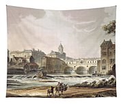 New Bridge, From Bath Illustrated Tapestry