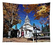 New England In New Jersey Tapestry