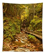 New England Waterfall Gorge Tapestry