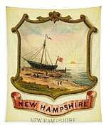New Hampshire Coat Of Arms - 1876 Tapestry