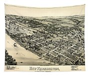 New Kensington Pennsylvania 1896 Tapestry