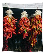 New Mexico Red Chili Peppers Tapestry