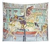 New Orleans Carousel Tapestry