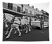 New Orleans Cortege  Tapestry