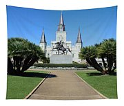 New Orleans - Jackson's Square Tapestry