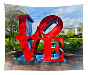 New Orleans Love 2 Tapestry