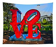 New Orleans Love 3 Tapestry