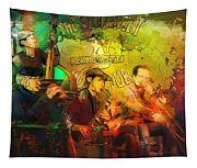 New Orleans Spotted Cat 03 Madness Tapestry