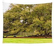 New Orleans' Tree Of Life 2 Paint Tapestry
