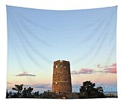 New Photographic Art Print For Sale Indian Watchtower At Grand Canyon Tapestry