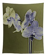 New Photographic Art Print For Sale Orchids 10 Tapestry